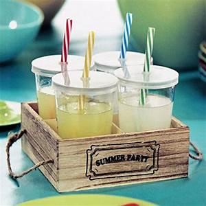 Trinkgläser Mit Deckel : 4er set trinkgl ser mit deckel und trinkhalm in einer ~ A.2002-acura-tl-radio.info Haus und Dekorationen