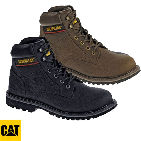 caterpillar safety size caterpillar black brown electric safety boot 7051 7052