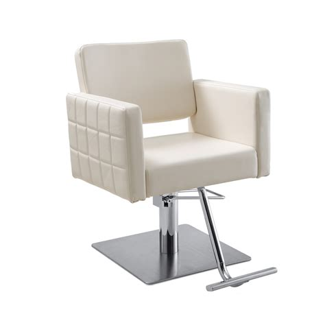 gwyneth white salon chair