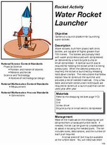 Water Rocket Launcher Directions   NASA
