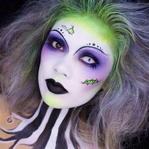 ideas  tener  maquillaje aterrador en halloween