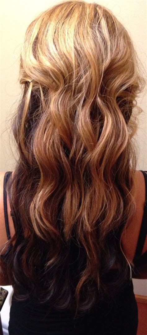 Hair With Brown Underneath Hairstyles by Asianhair My Hair With On Top And My