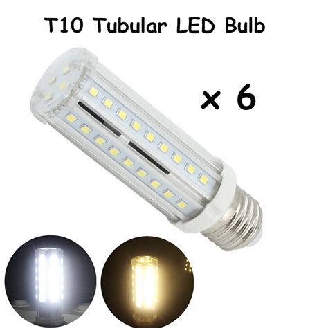 t10 tubular led bulbs with medium e26 bulb base 60w