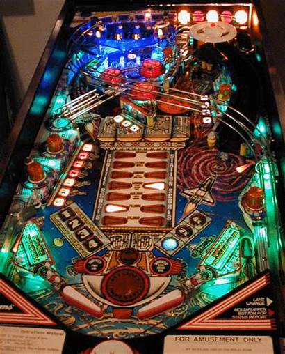 Pinball Space Station Panel Spacestation Playfield Jeff