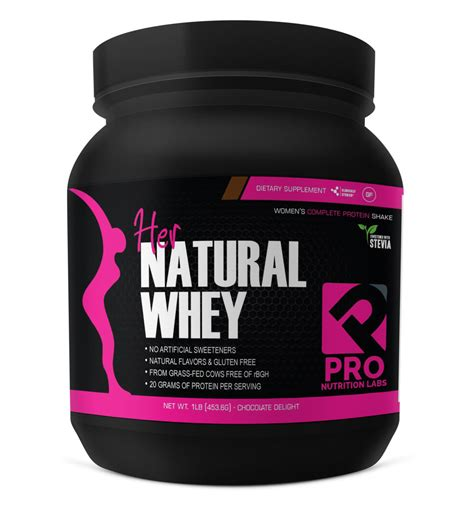 Best Protein Powder For Women - Her Natural Whey — Pro