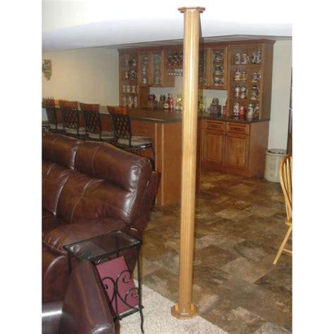 basement wrap lally column cover ideas pole wrap photo galleries