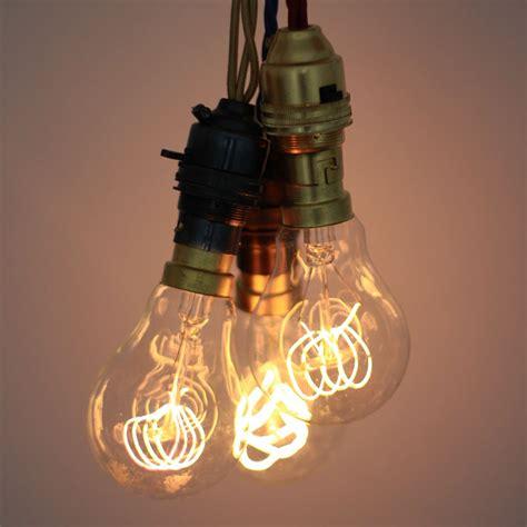 loop carbon filament light bulb 40w 220 240v
