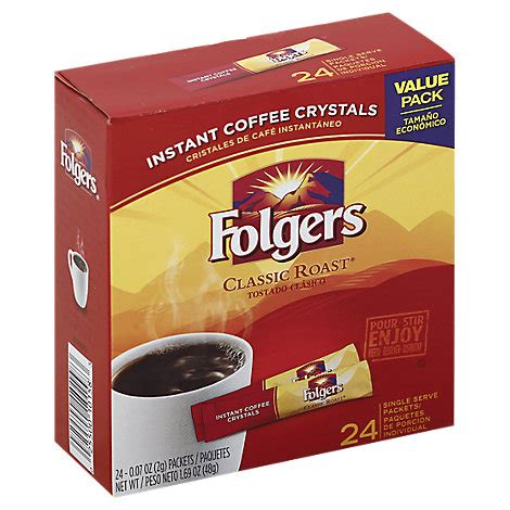 If there is how much is in a tablespoon? Folgers Coffee Singles Classic Roast Value Pack Box - 24-0.07 Oz - Tom Thumb