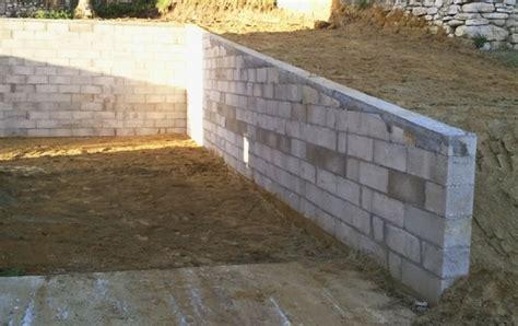 parpaing de sout 232 nement construction maison b 233 ton arm 233