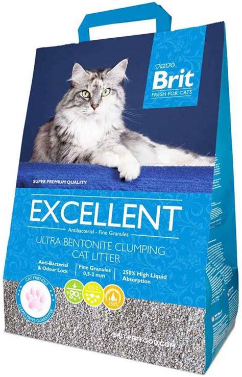Brit Fresh For Cats Excellent Ultra Bentonite Hrudkující