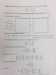 Eigenvektoren Berechnen : eigenwerte eigenwert 3 basis von eigenraum wenn matrix 2 nullzeilen hat mathelounge ~ Themetempest.com Abrechnung