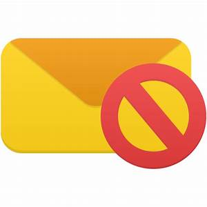 Email not validated Icon | Flatastic 10 Iconset | Custom ...