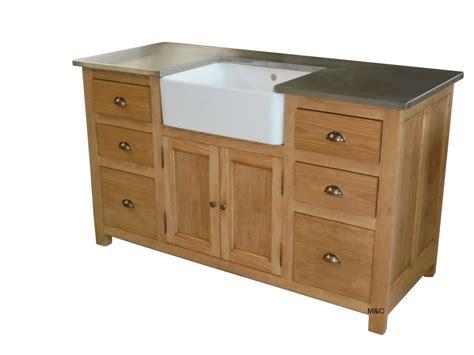 meuble bois cuisine meuble sous evier de cuisine bois massif