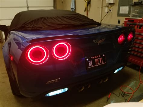 Corvette Lights by How To Oracle Afterburner Led Light Halos