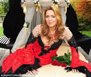 She's behind you! Claire Sweeney plays the wicked fairy in