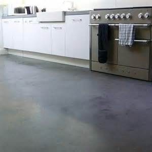 semi gloss concrete screened kitchen floor beautiful interiors floors