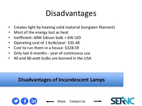 Difference Between Led And Incandescent Light Bulb A