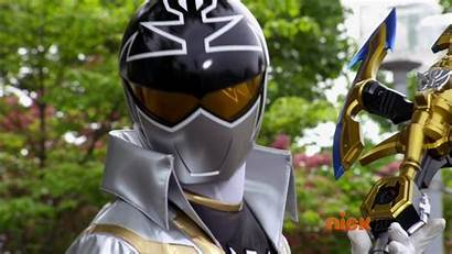 Silver Super Megaforce Lining Rangers Ranger Power