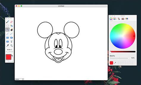 simple drawing applications  mac  tech easier