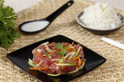 impressionnant cours de cuisine japonaise 6 recette de poisson cru 224 la tahitienne facile