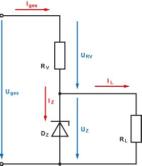 spannungsregelung mit  diode mikrocontrollernet