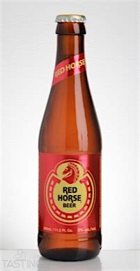 san miguel brewery red horse philippines beer review