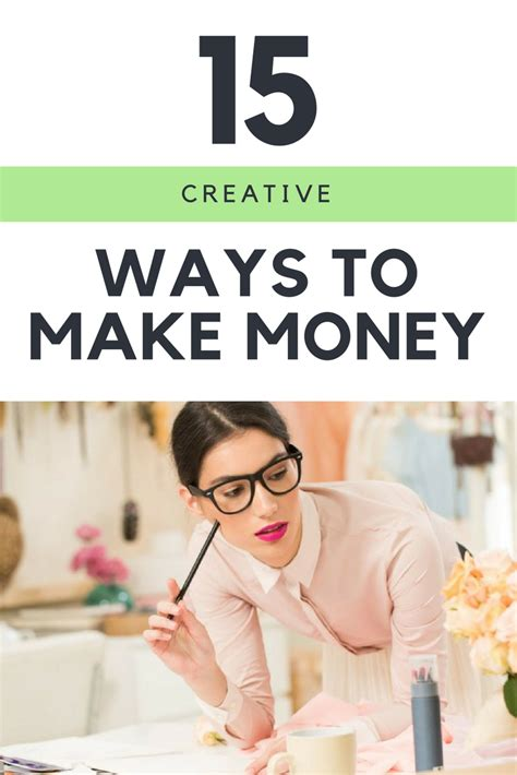 15 Creative Ways To Make Money  Elevate Your Life