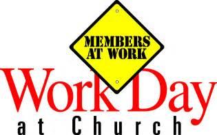 Church Work Day Clean Up Clip Art