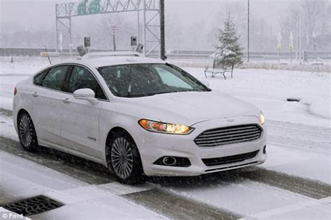 » Ford Testing New Driverless Cars In Blizzard Conditions