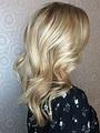 Blonde hair, foils, #tracydion, wavy hair, | Hair, Wavy ...