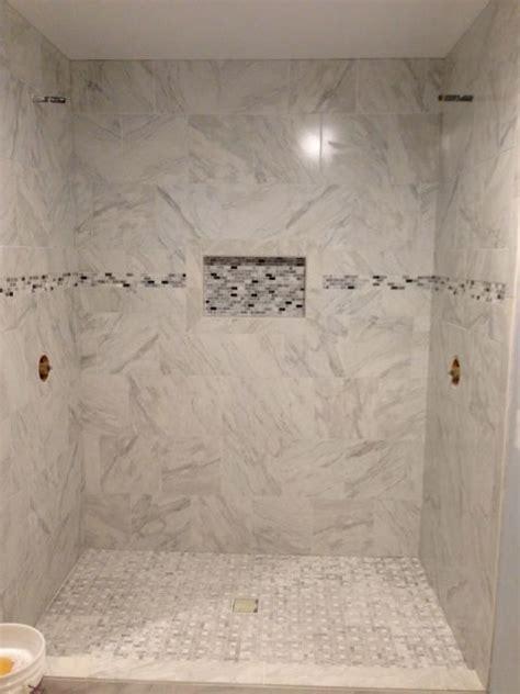 carrara marble subway tile lowes   Home Decor