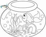 Angel Fish Coloring Goldfish Printable Getcolorings Getdrawings sketch template