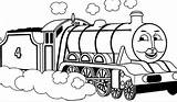 Train Coloring Pages Thomas Print Clipartmag sketch template