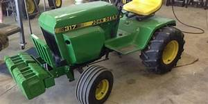 John Deere 315 Tractor Service Repair Manual