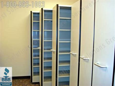 High Density Retractable Mobile Shelving  Pull Out