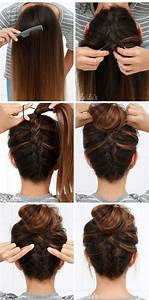 Easy Hairstyles To Do At Home Step By Step | www.pixshark ...