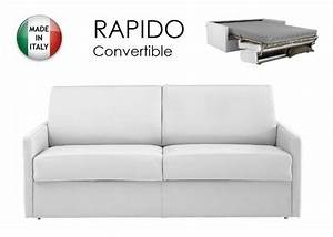 canape lit 3 4 places sun convertible ouverture rapido With canapé convertible 2 places longueur 160 cm