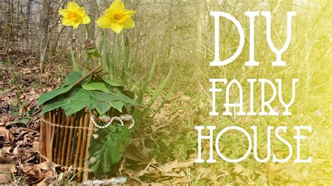 diy fairy house youtube