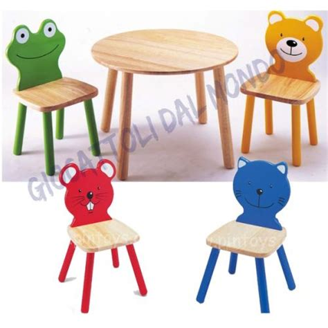 sedie per bimbi tavolo con sedie per bambini pintoy