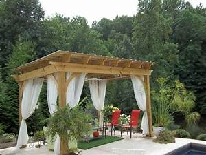 Construire Pergola Bois : construire sa pergola bois ~ Preciouscoupons.com Idées de Décoration