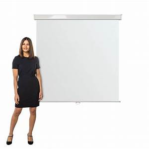 Wall Mounted Manual Projection Screens