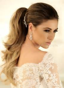 wedding styles ponytail hairstyles ponytail wedding hairstyle hairstyles for weddings