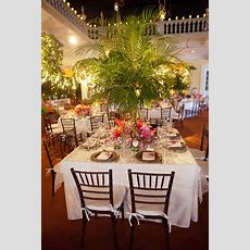 Elegant Tropical Wedding Reception  My Future Wedding