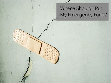 Where Should I Put My Emergency Fund?  Pocket Of Money, Llc