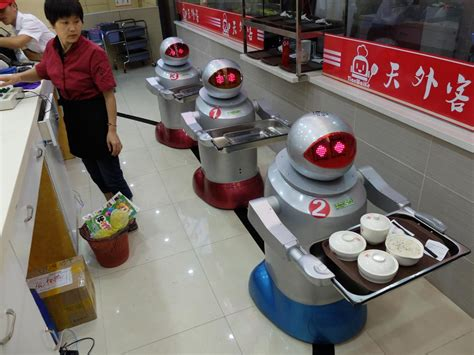 robots cooked and served my dinner munchies