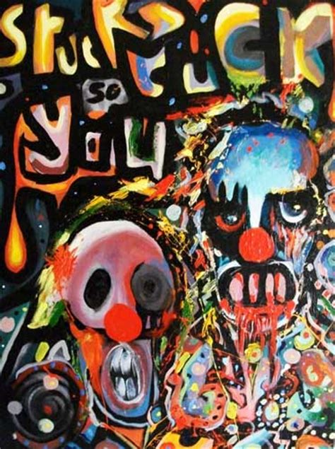 stuckism chris yates paintings