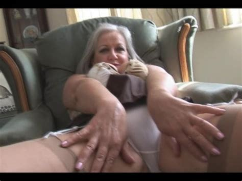 Attractive Busty Granny In Stockings Stripping Free Porn