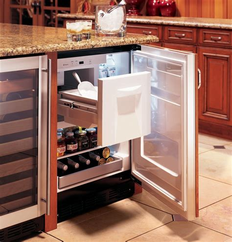 zibihii monogram bar refrigerator module custom panels