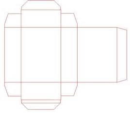MTG box skeleton pattern
