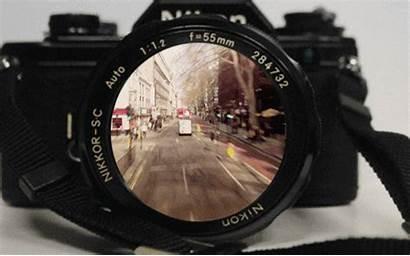 Lens Through Camera Lenses Lense Cameras Gifs